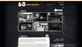 60interactive | Web Design