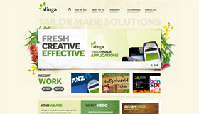 Alinga | Gold Coast Web Design