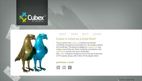 Cubex | WordPress Design