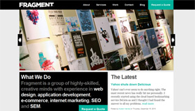 FRAGMENT Web Design