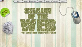 Shaun of the Web | Web Design