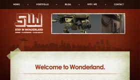 Stay in Wonderland | Design