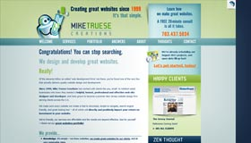 Mike Truese Creations | Web Design