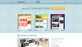 SimplyWP | Blog Design