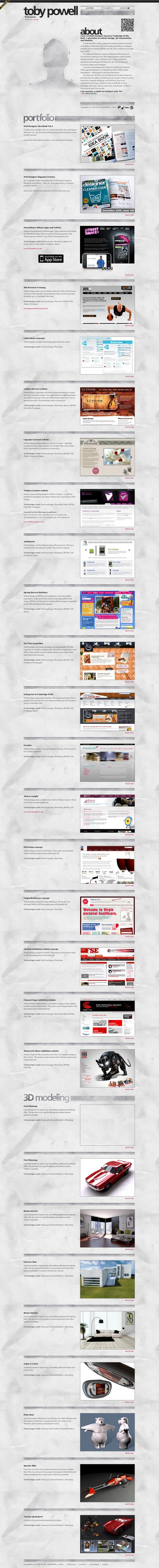 Toby Powell | Web Designer