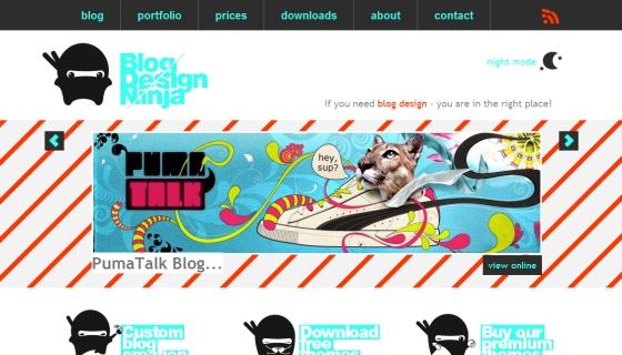 Blog Design Ninja