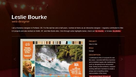 Leslie Bourke