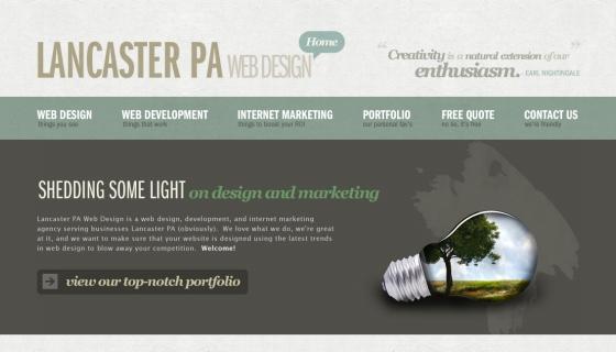 Lancaster, PA Web Design