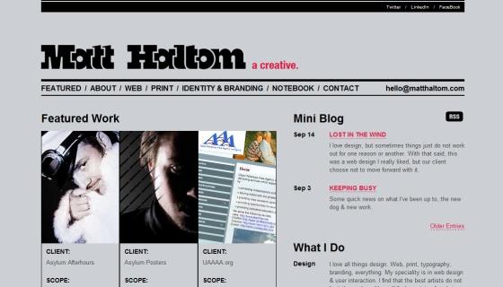 Matt Haltom