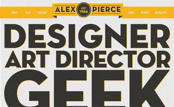 Alex Pierce | Designer