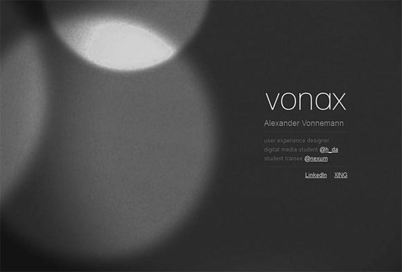 Alexander Vonnemann | Designer