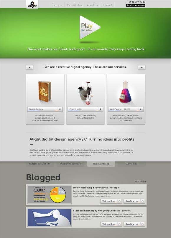 Alight | Digital Agency *Redesign*