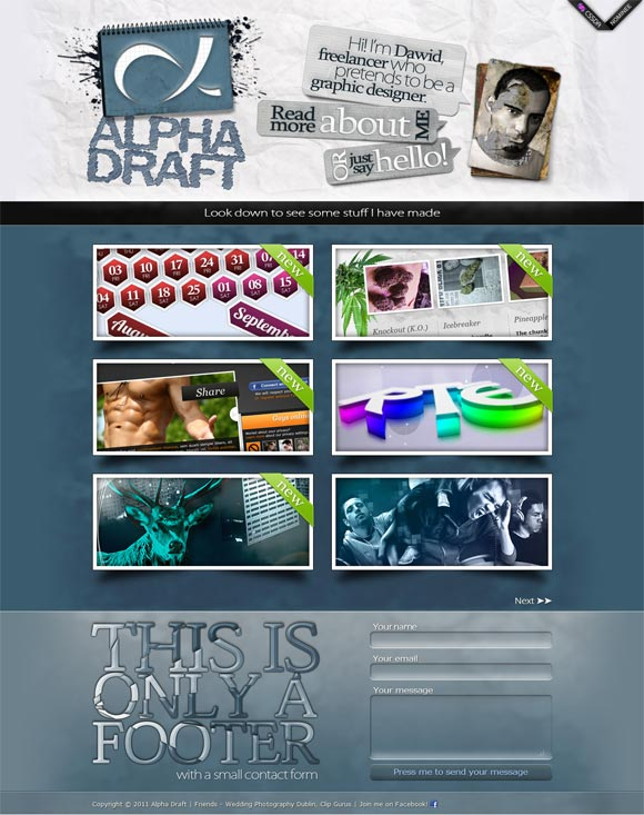 Alpha Draft | Graphic Designer