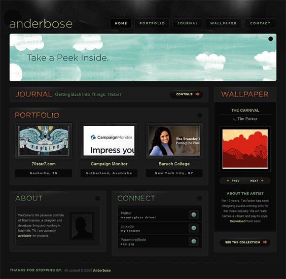 Anderbose | Web Design