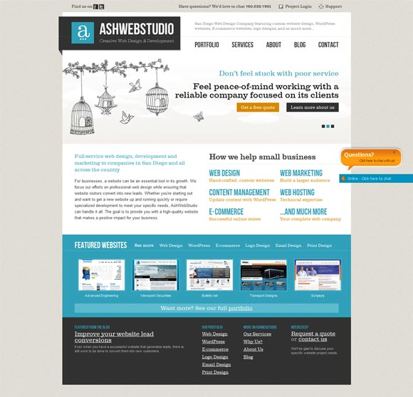 AshWebStudio | Web Design
