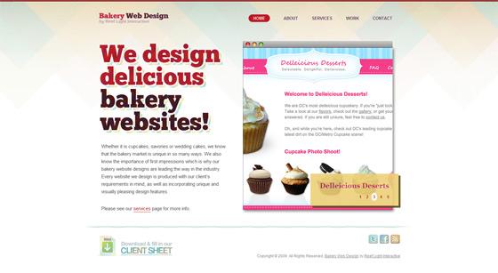 Bakery Web Design | Web Design