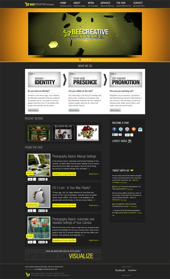 Bee Creative Studios | Web Design