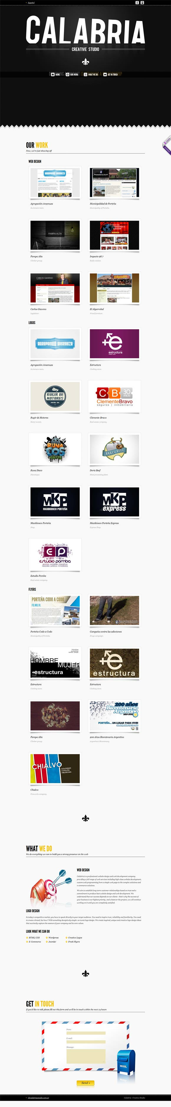 Calabria Creative Studio  | Design