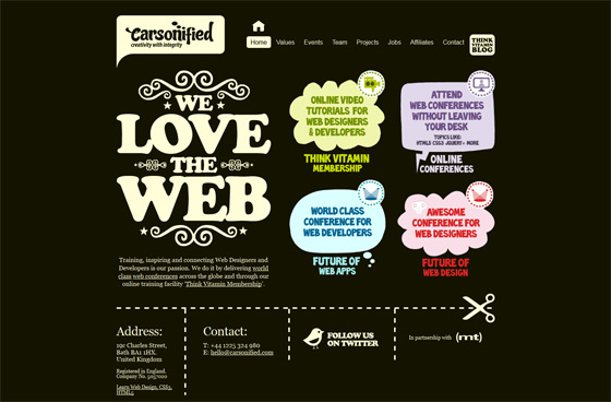 Carsonified | Web Design