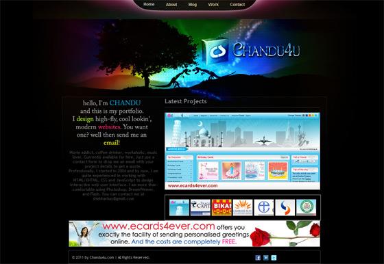 Chandu4U | Web Designer