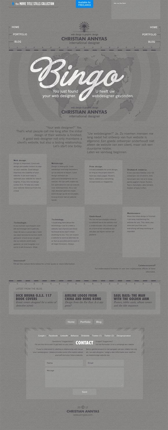 Christian Annyas | Web Design