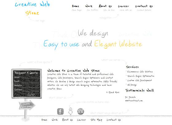 Creative Web Stone | Web Design