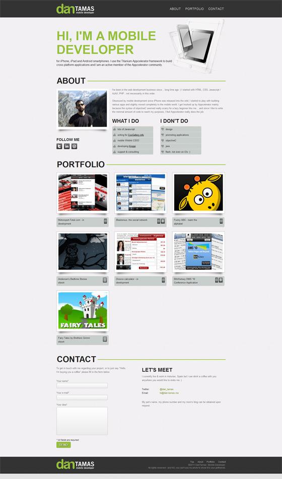 Dan Tamas | Web Designer