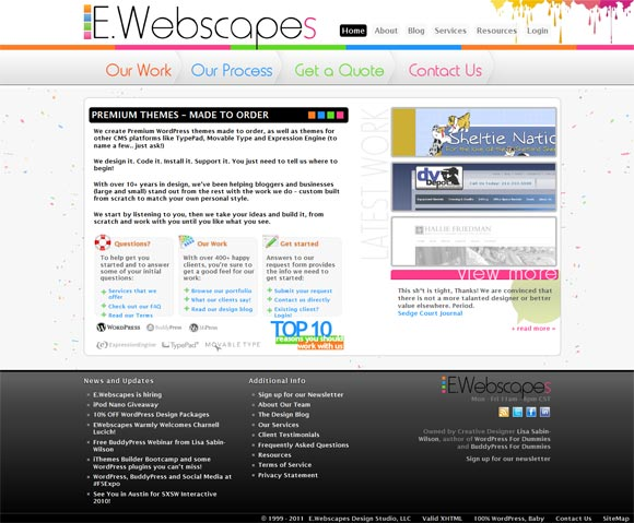 E.Webscapes | Web Design
