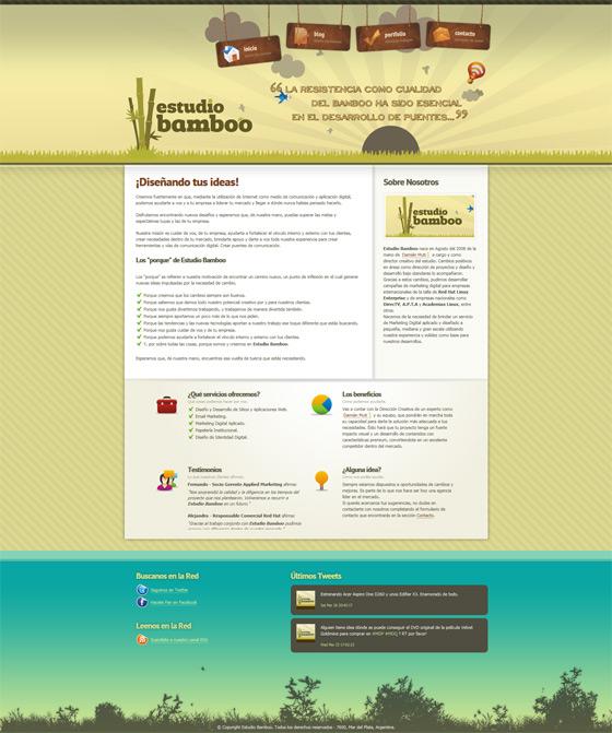 Estudio Bamboo | Web Design