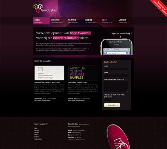 Goodbytes | Web Design