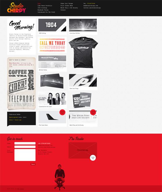 Studio Chirpy | Web Design