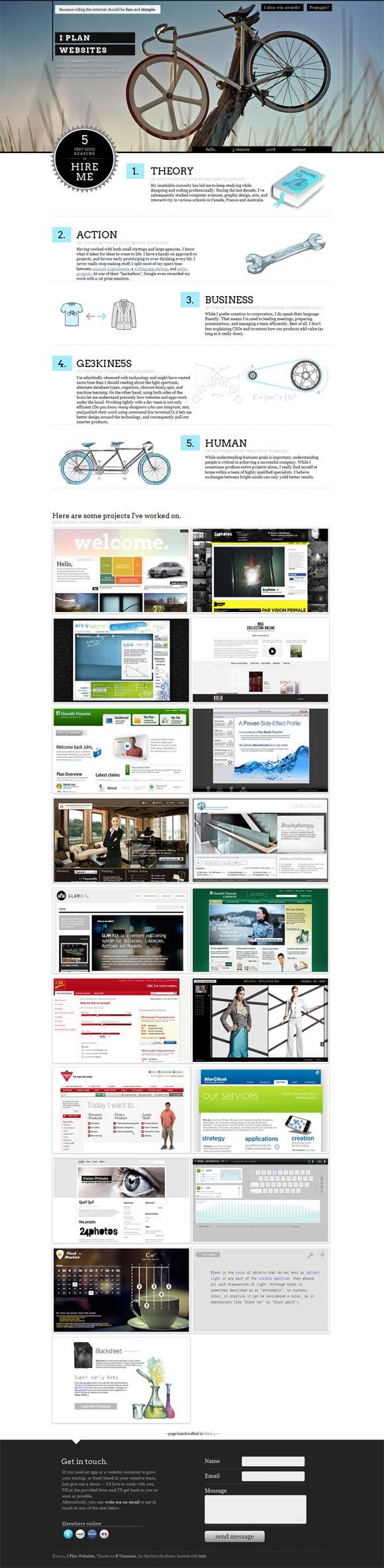 I Plan Websites | Design