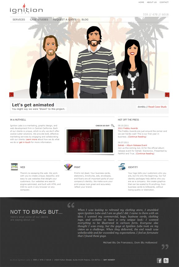 Ignition Labs | Web Design