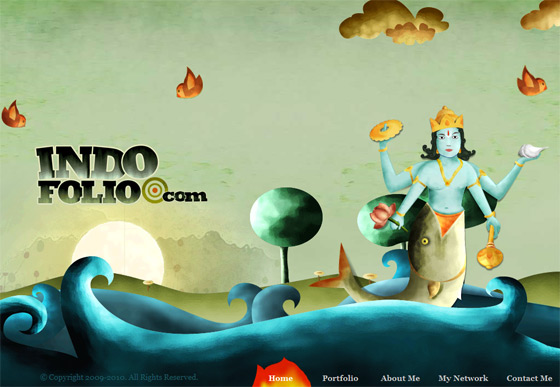 Indo Folio | Web Design