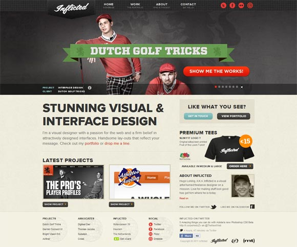 Inflicted | Design