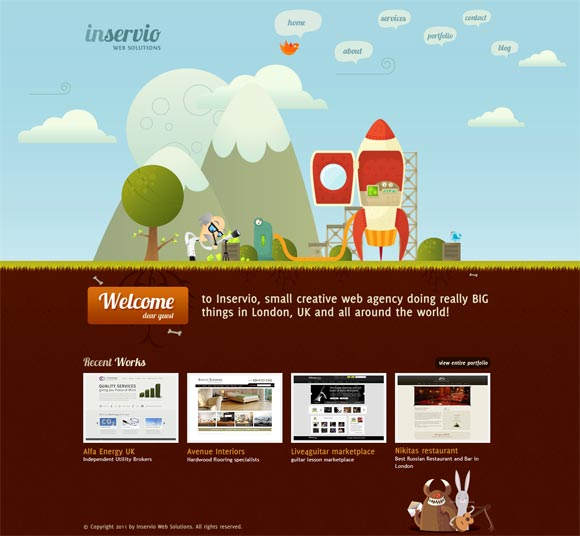 Inservio | Web Design