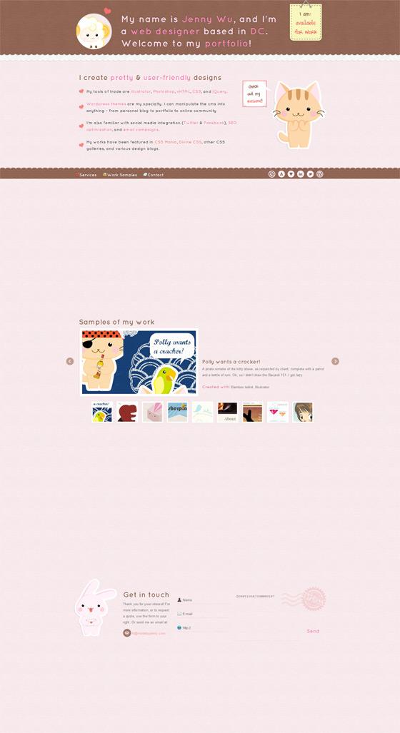 Made by Jenny | Web designer