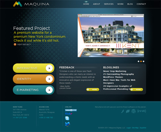 Maquina Studio | Web Design