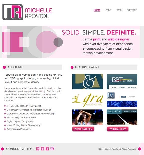 Michelle Apostol | Web Designer