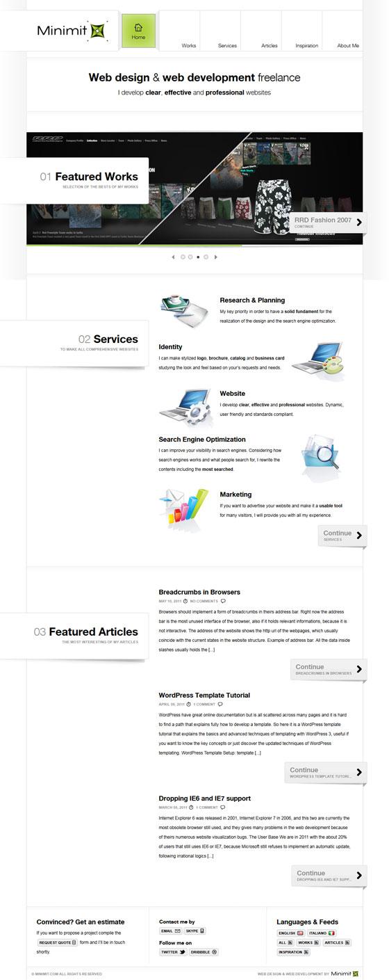 Minimit | Web Design