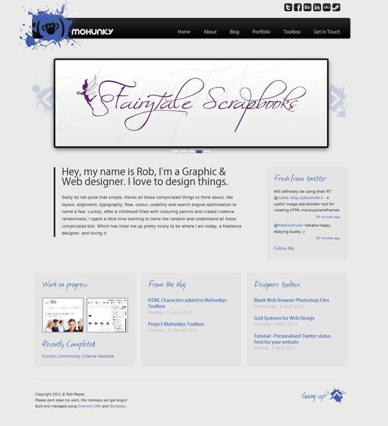 MOHUNKY | Web Designer