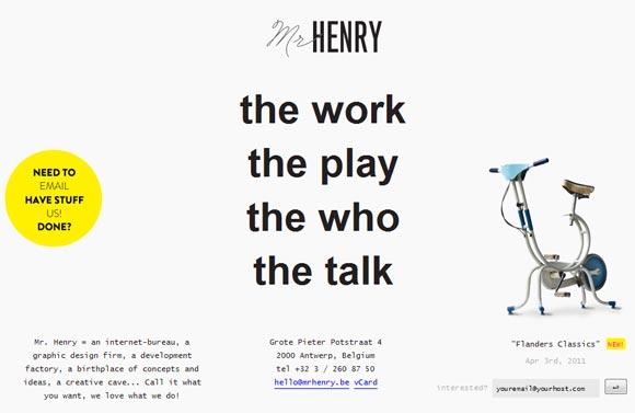 Mr Henry | Graphic Design