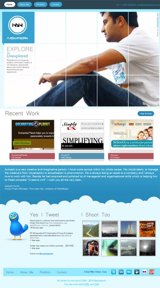 Nashatwork | Web Designer