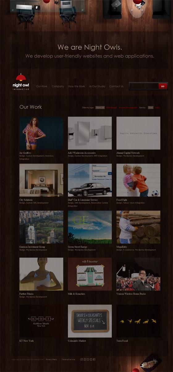 Night Owl Interactive | Web Design