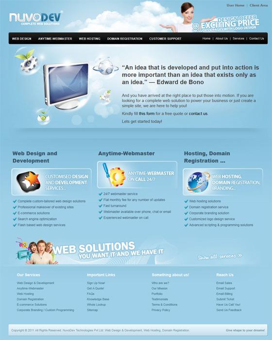NuvoDev | Web Design