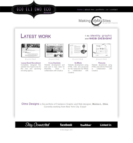 Olmo Designs | Web Design