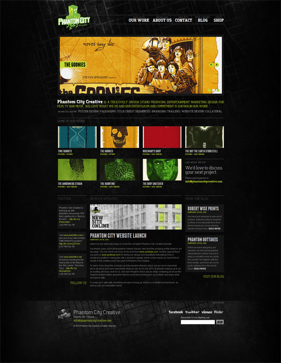 Phantom City Creative | Web Design