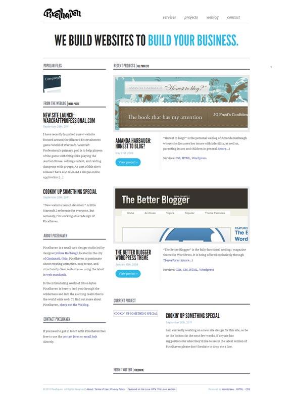 Pixelhaven | Web Design