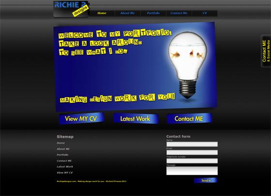 Richie P Designs   Web Design