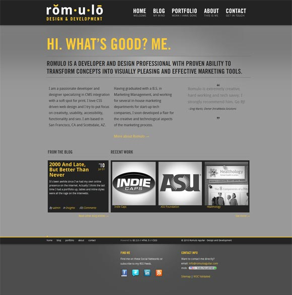 Romulo | Design & Development